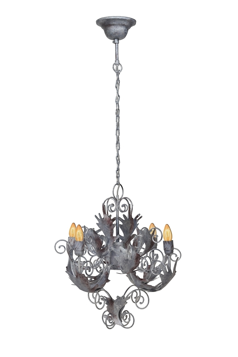 Leuchte Chandelier Pendant Small Burnished Champagne