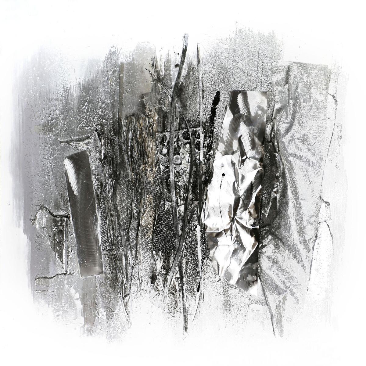Aluminium Bild Abstact I 80cm x 80cm