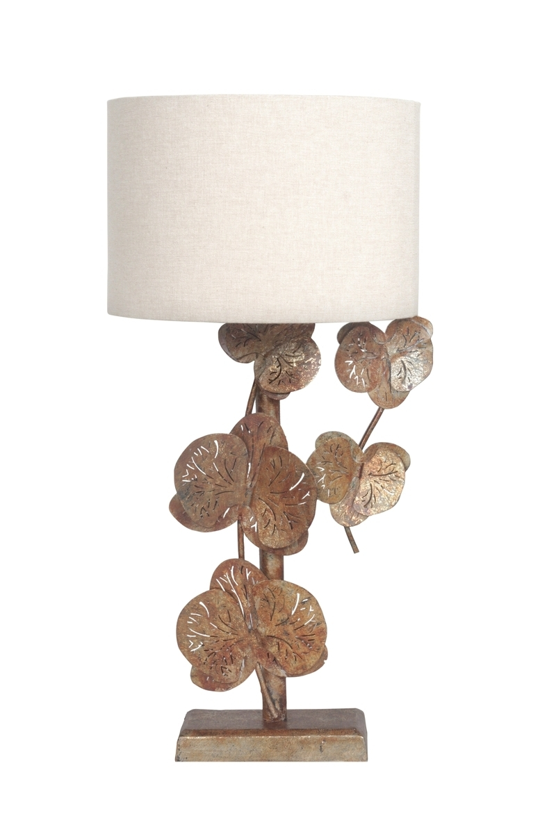Leuchte Ivy Table Burnished Gold