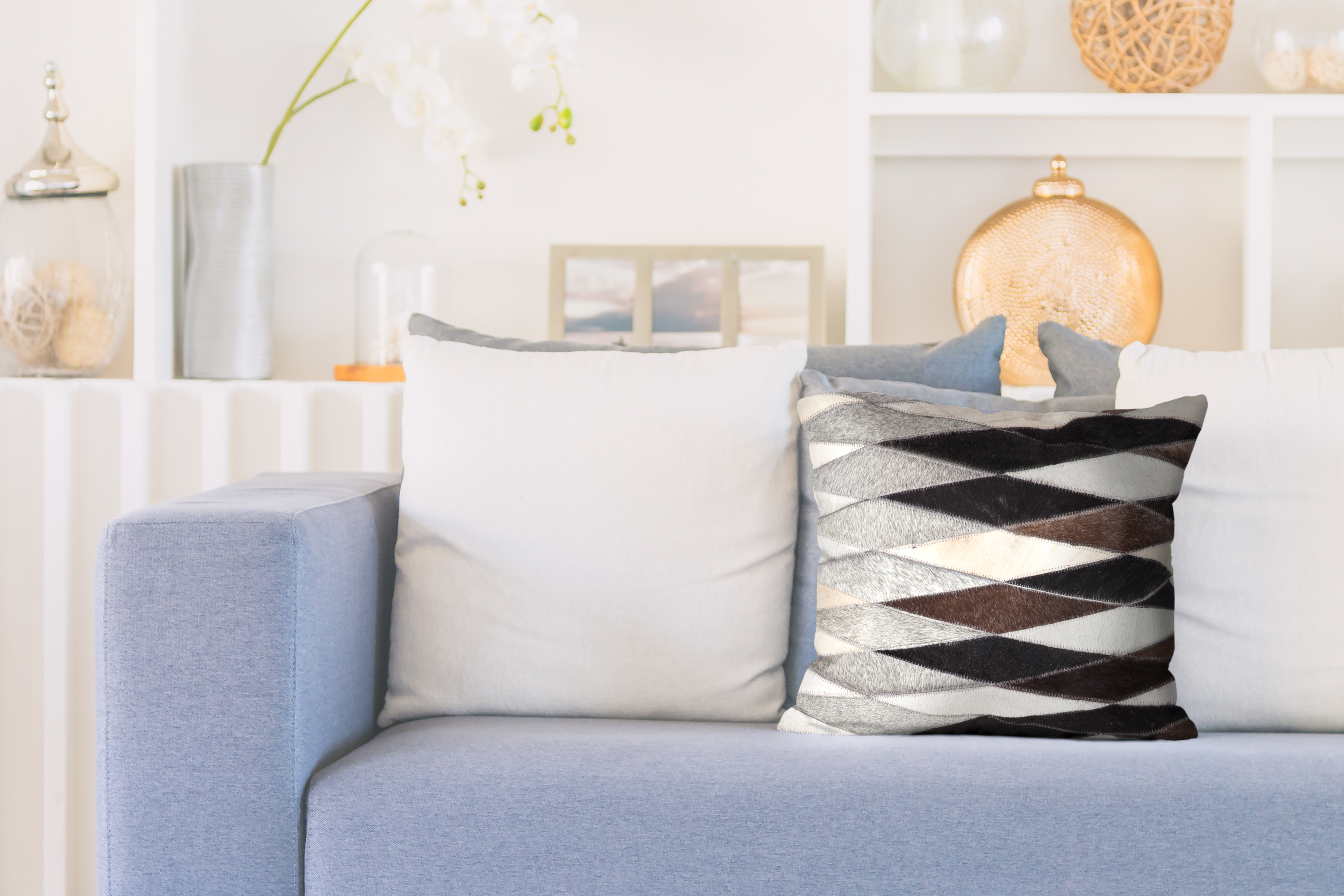 kissen deko lavish pillow 510 grau teppich. Black Bedroom Furniture Sets. Home Design Ideas