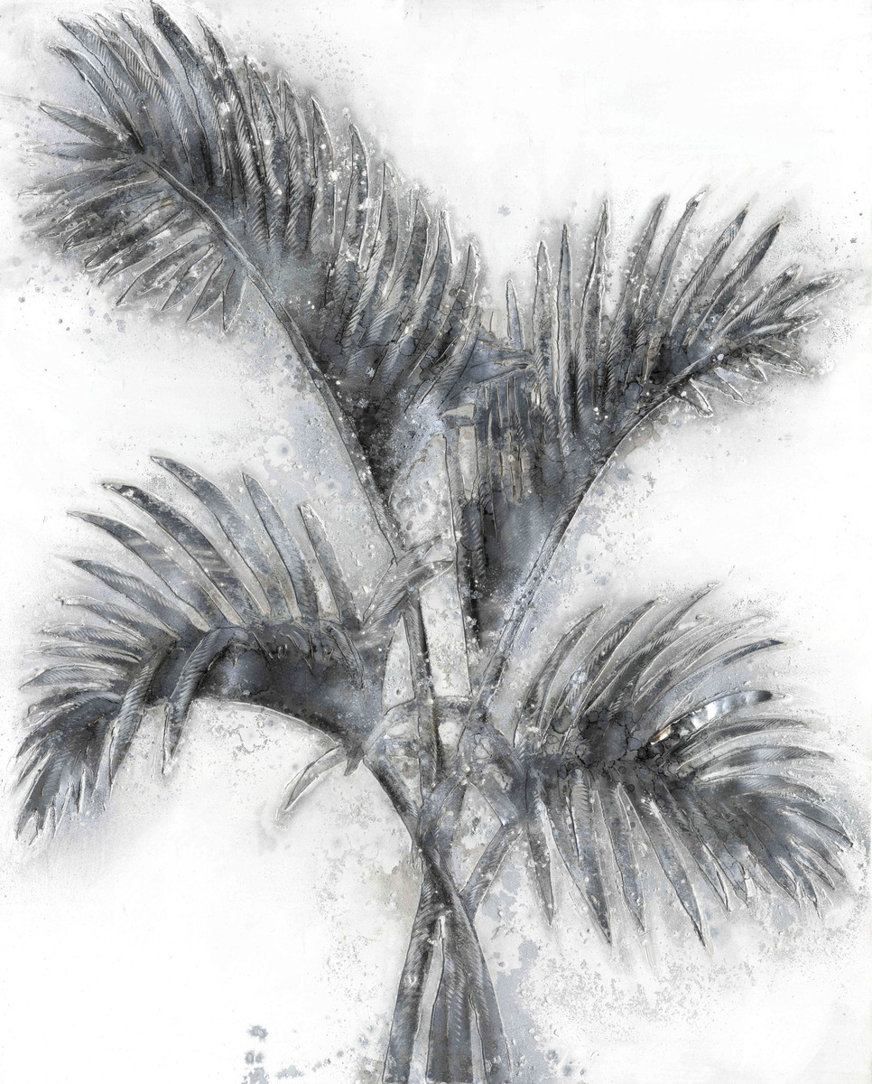 Aluminium Bild Palmtree I 100cm x 80cm
