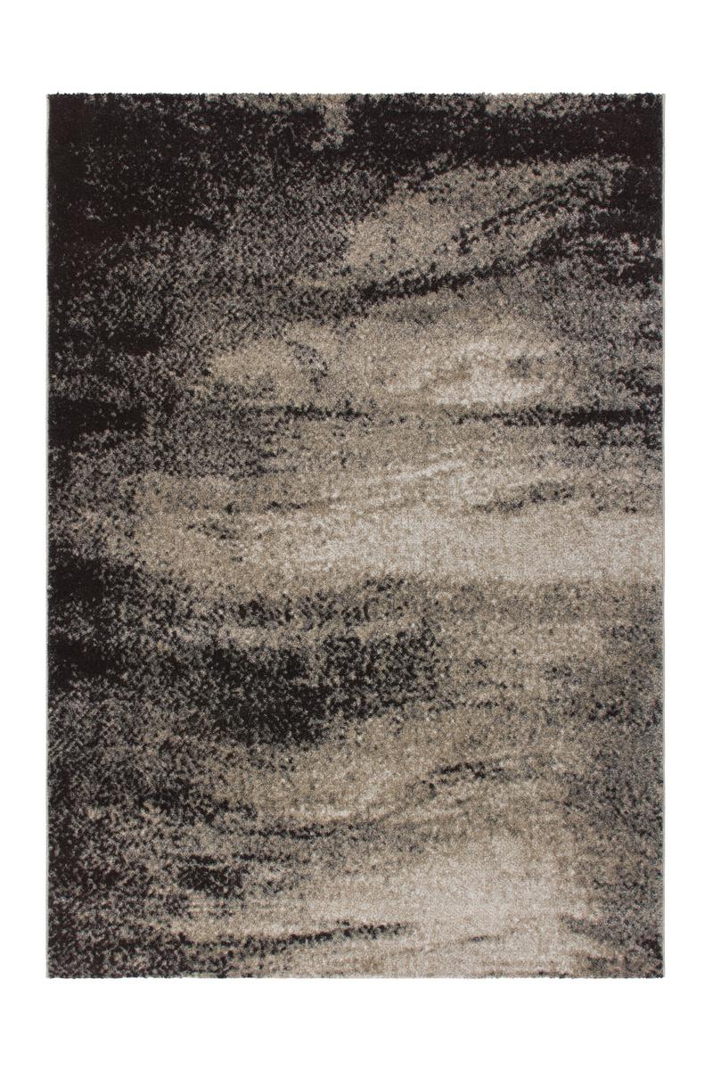 teppich modern shabby look modern teppiche beige schwarz beige 80x150cm ebay. Black Bedroom Furniture Sets. Home Design Ideas